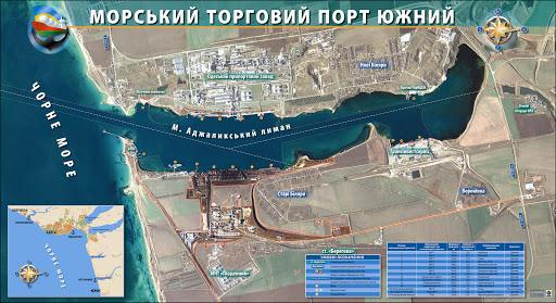 Филиал АМПУ в Южном порту отдаст 5 млн гривен на текущий ремонт причалов (обновлено)