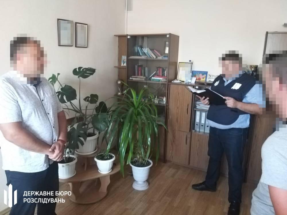 В Кропивницком на взятке задержали чиновника Гоструда