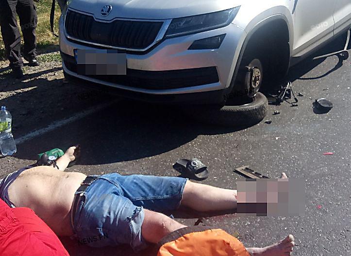 В Николаевской области грузовик сбил прокурора