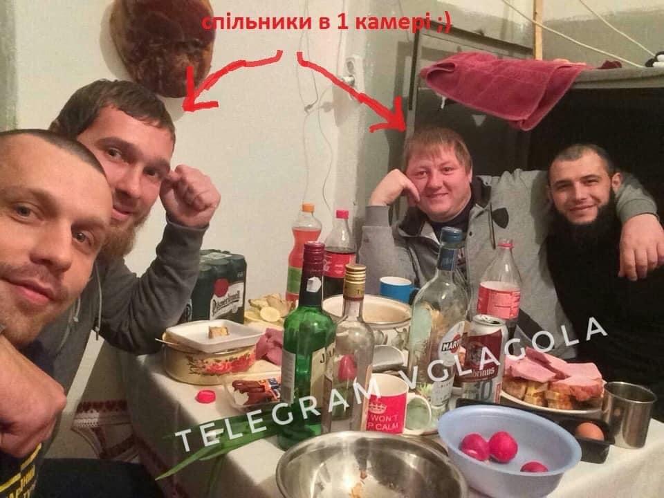 В ужгородском СИЗО бандиты устраивают застолья с элитным алкоголем