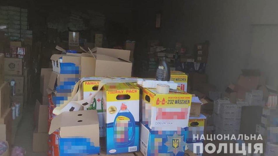 В Закарпатской области закрыли цех по изготовлению поддельных стиральных порошков