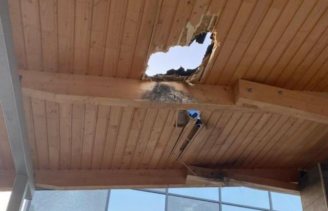 В Мукачево из гранатомета обстреляли комплекс отдыха