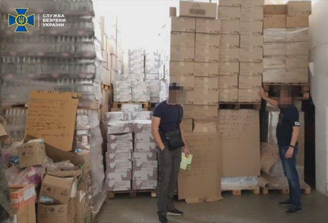 СБУ блокировала схему незаконной поставки продукции в ОРДЛО на десятки миллионов гривен
