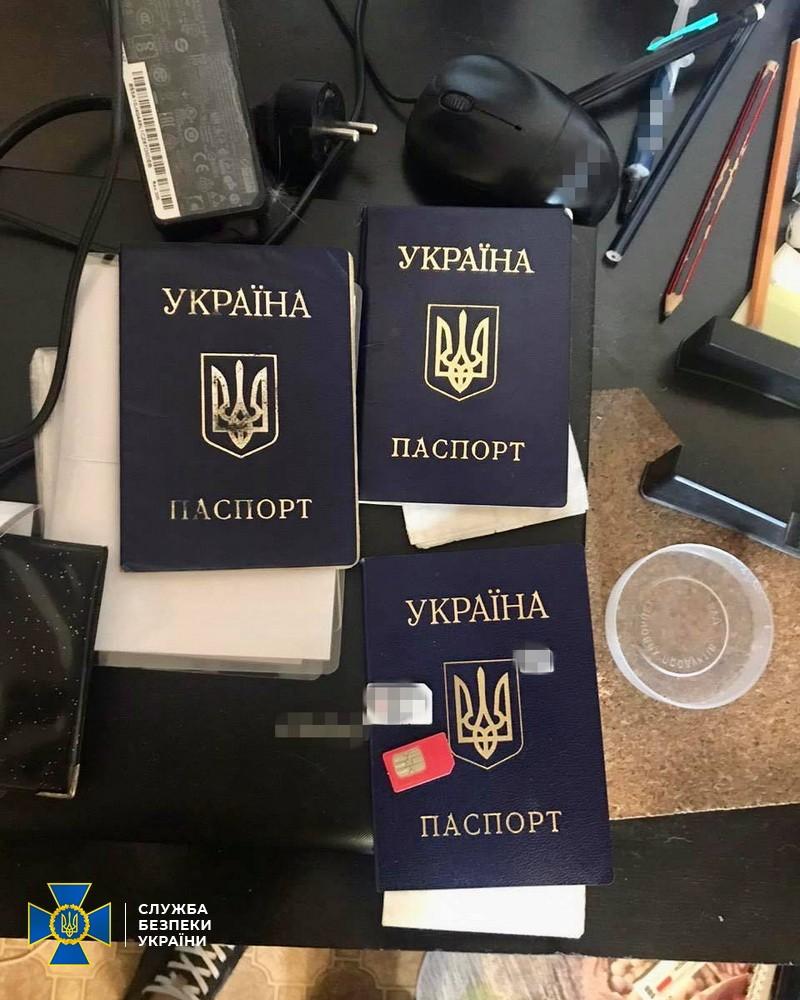 В Харькове мошенники изготавливали поддельные украинские паспорта