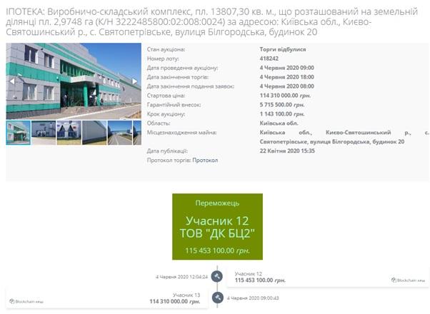 Фиала купил логистический комплекс у «Укрэксимбанкома» по специальной схеме