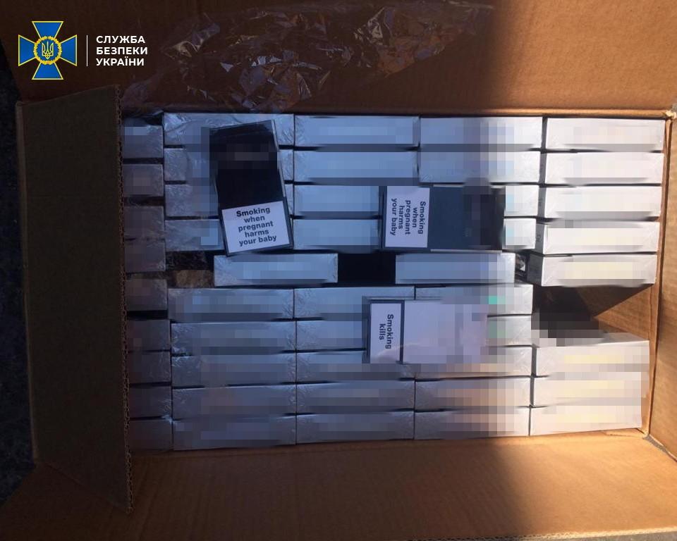 В Одессе нашли партию контрабандных сигарет на 10 млн гривен