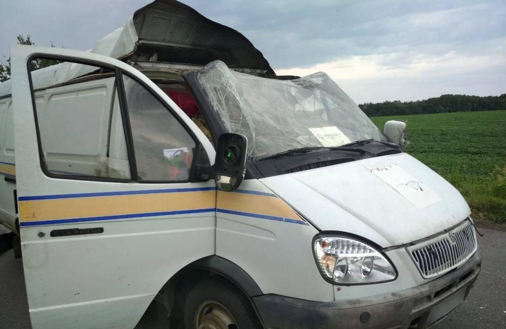 В Полтавской области грабители взорвали инкассаторский автомобиль «Укрпочты»