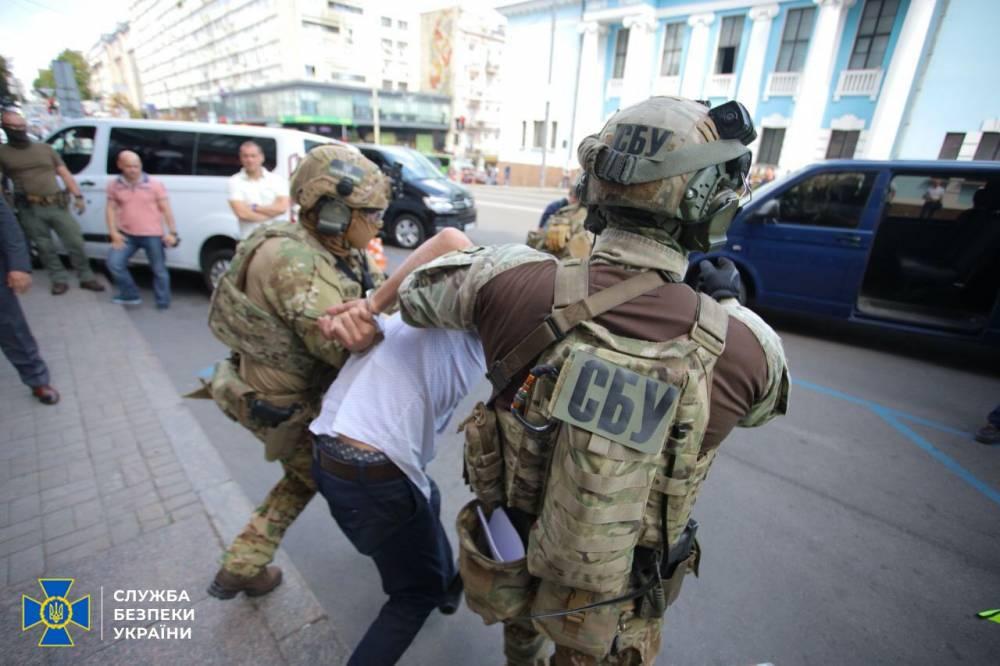 СБУ задержала захватчика киевского банка