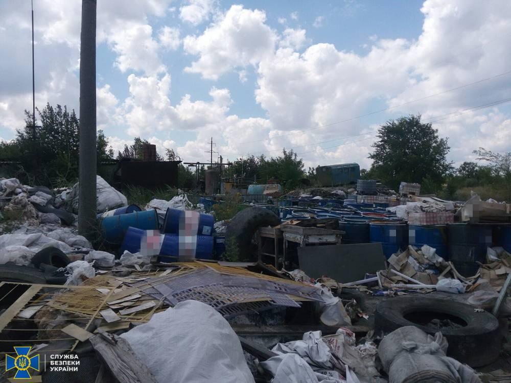 В Северодонецке разоблачили фирму, вывозившую опасные отходы на полигон предприятия