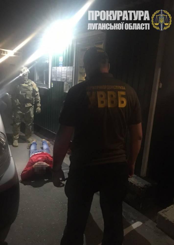 Перевозчик предложил взятку луганскому пограничнику