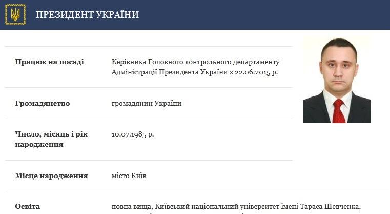 Ставленника Ложкина перевели из Офиса президента в департамент аудита Минэкономики