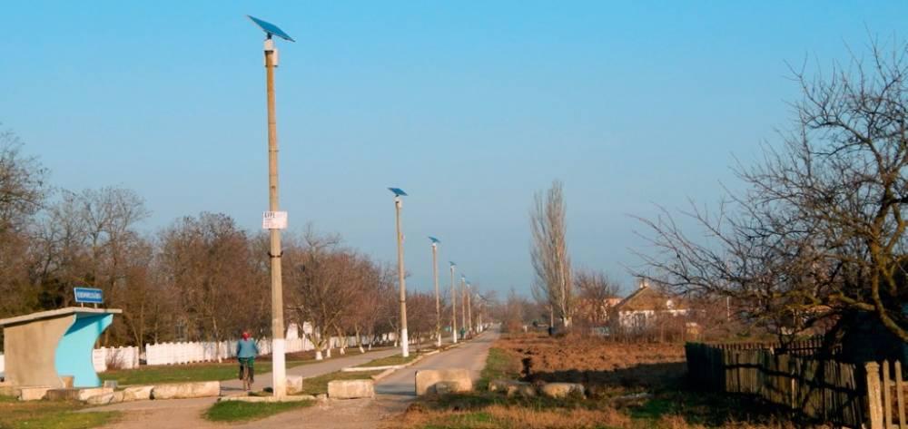 В Чмыровке пытались украсть деньги на обустройстве уличного освещения
