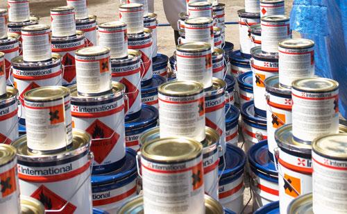 Морская спасательная служба закупила краску в разы дороже реальной стоимости