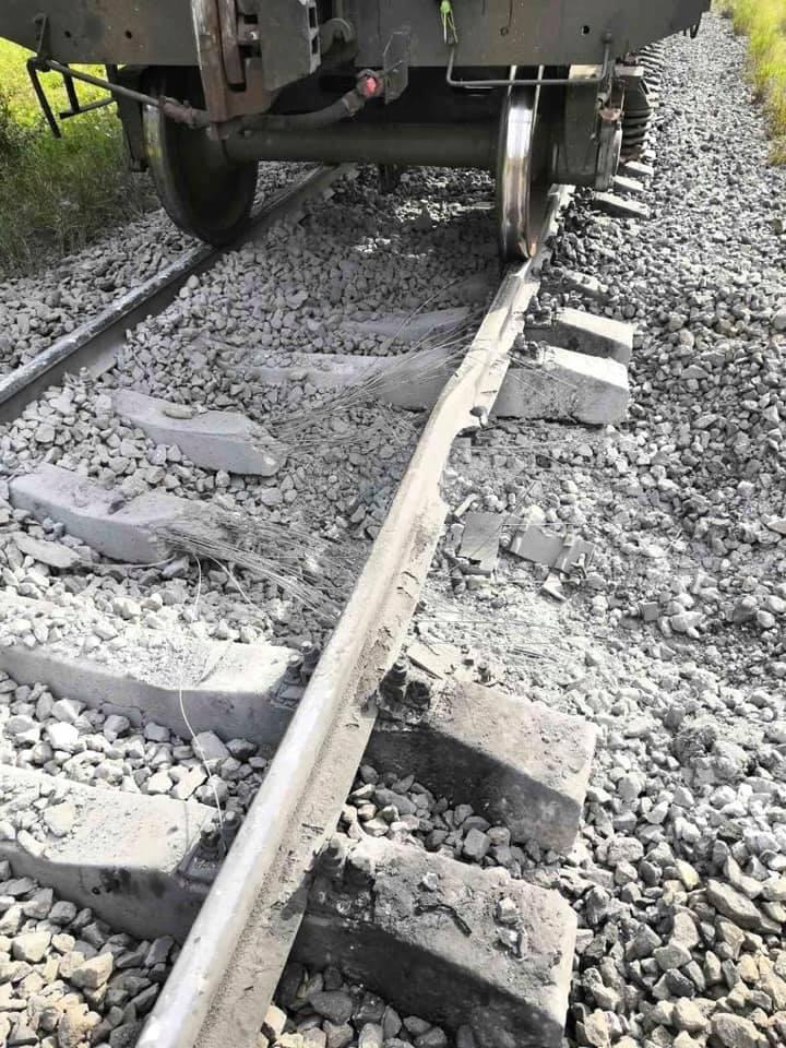 Под Коростенем пытались взорвать железнодорожные пути