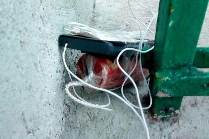 В Киеве задержали экс-полицейского и ветерана АТО по подозрениею в минировании офиса
