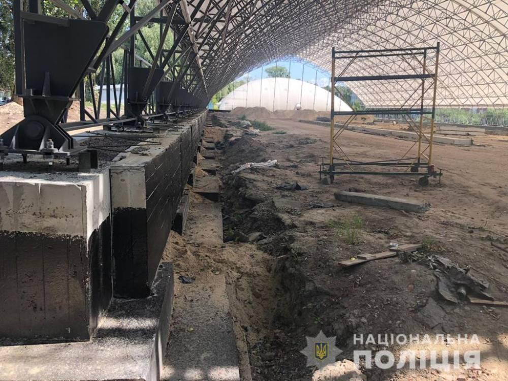 Полиция разоблачили «схему» хищения 20 млн гривен при создании Национального теннисного центра