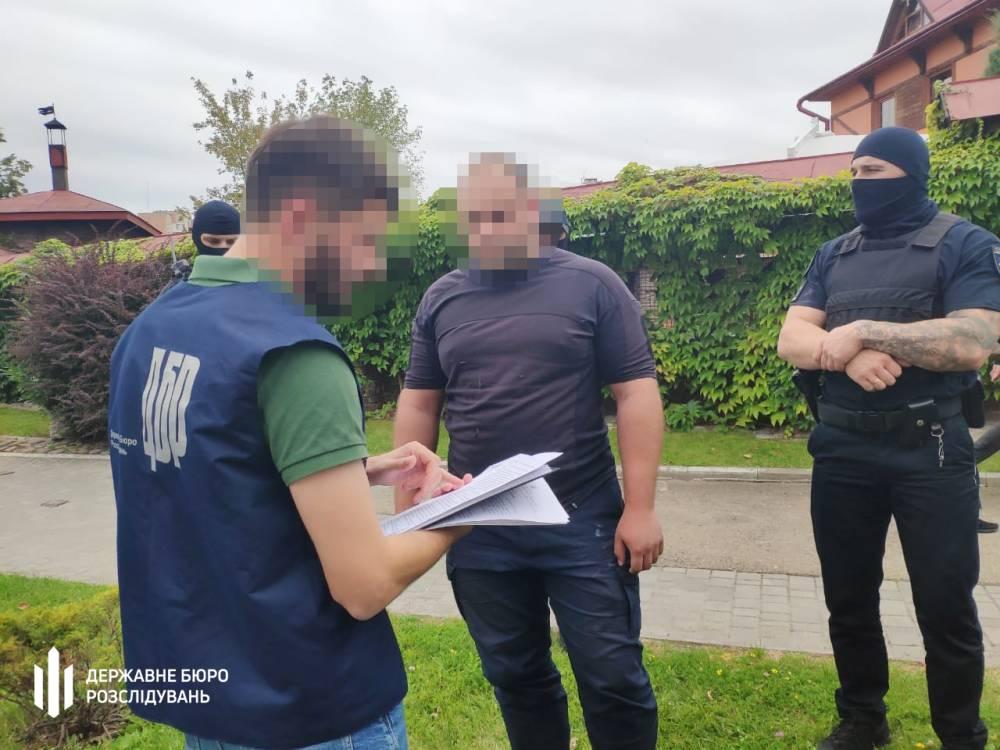 Во Львове офицер ГСЧС вымогал деньги за трудоустройство