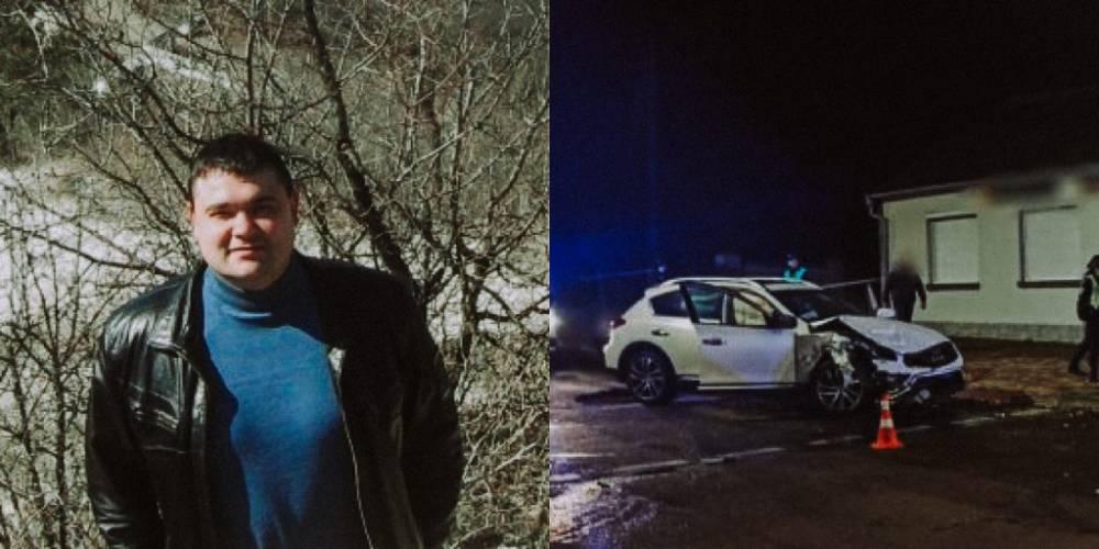 В Луцке пьяный муж пресс-секретаря областной полиции стал виновником смертельного ДТП