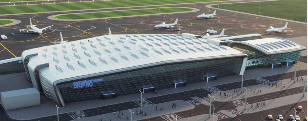 Строительство аэропорта в Днепре доверили окружению Труханова, отклонив предложения победителей
