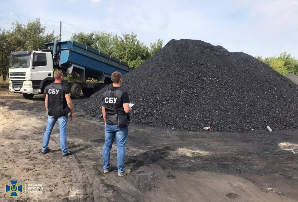 В Луганской области руководство одной из шахт организовало «теневую» добычу угля