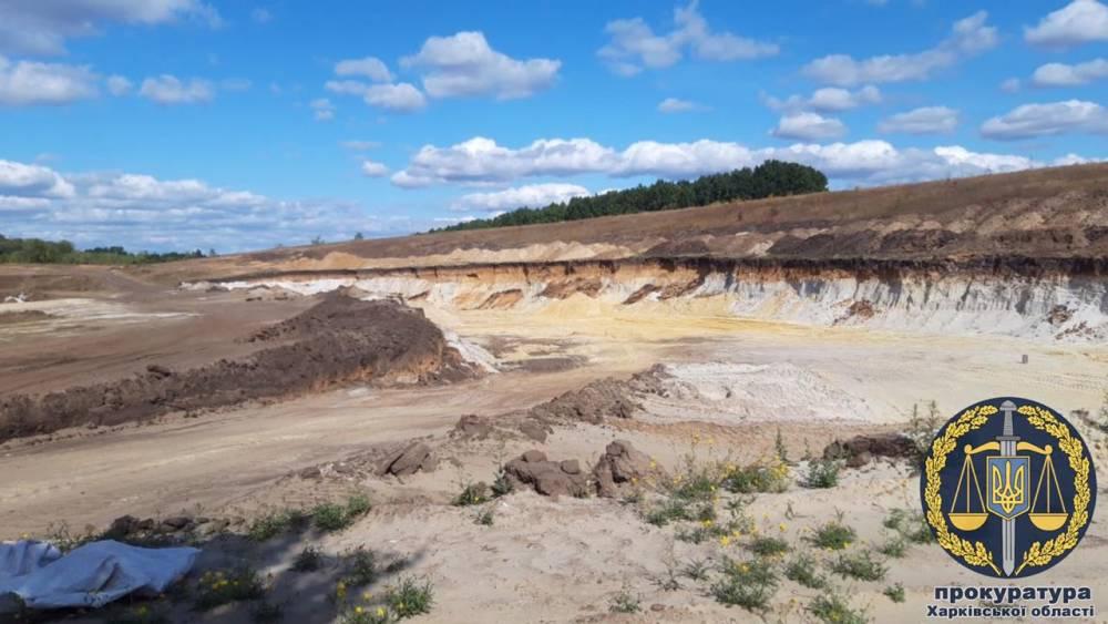 В Волчанске фермера подозревают в незаконной добыче песка на 612 млн гривен