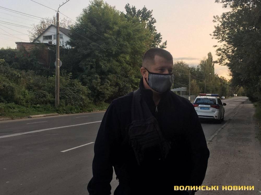 Глава патрульной полиции Волынской области устроил аварию на дороге