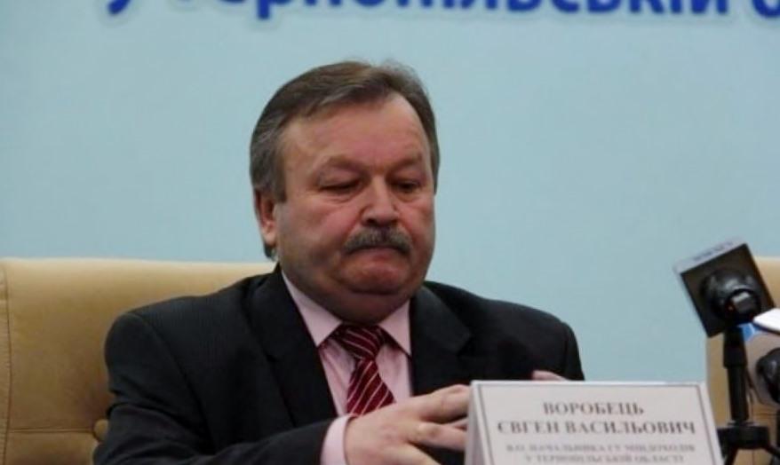 Главный налоговик Тернополя, занимавшийся рэкетом, скрыл фирмы жены из декларации