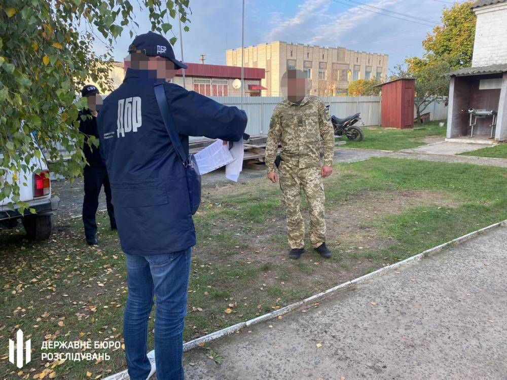 В Луцке на взятке задержали пограничника