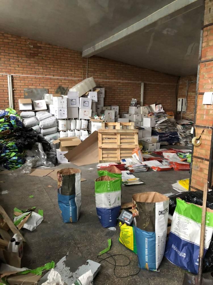 В Винницкой области закрыли производство контрафактной семенной продукции