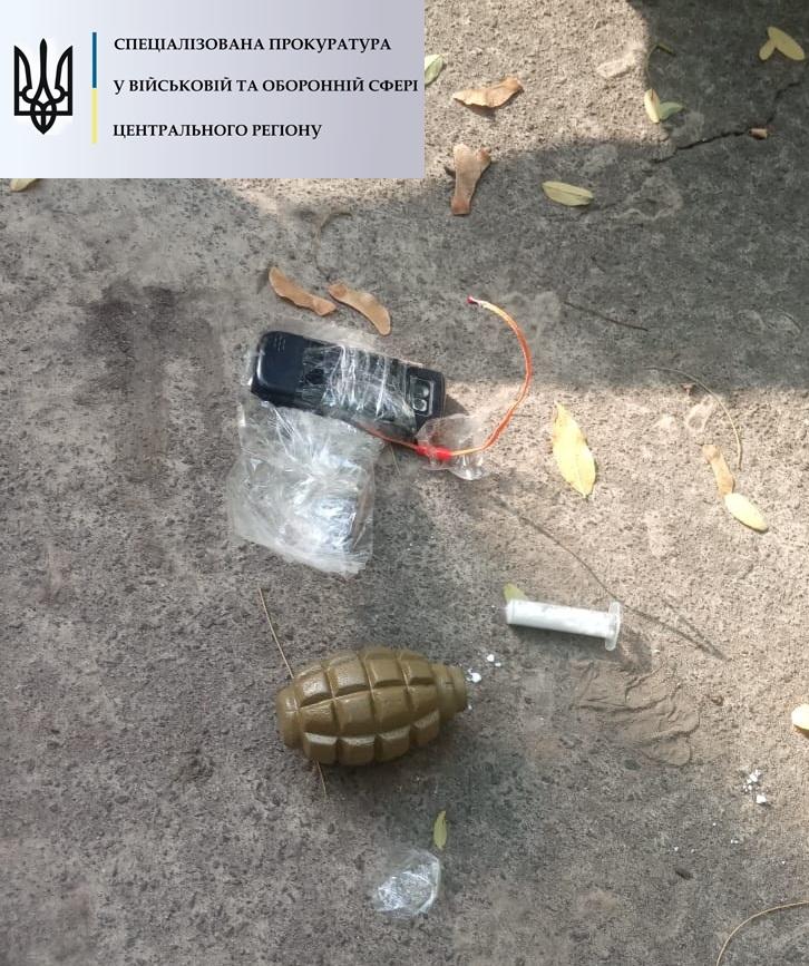 В Житомирской области бывший военнослужащий  занимался торговлей взрывчаткой