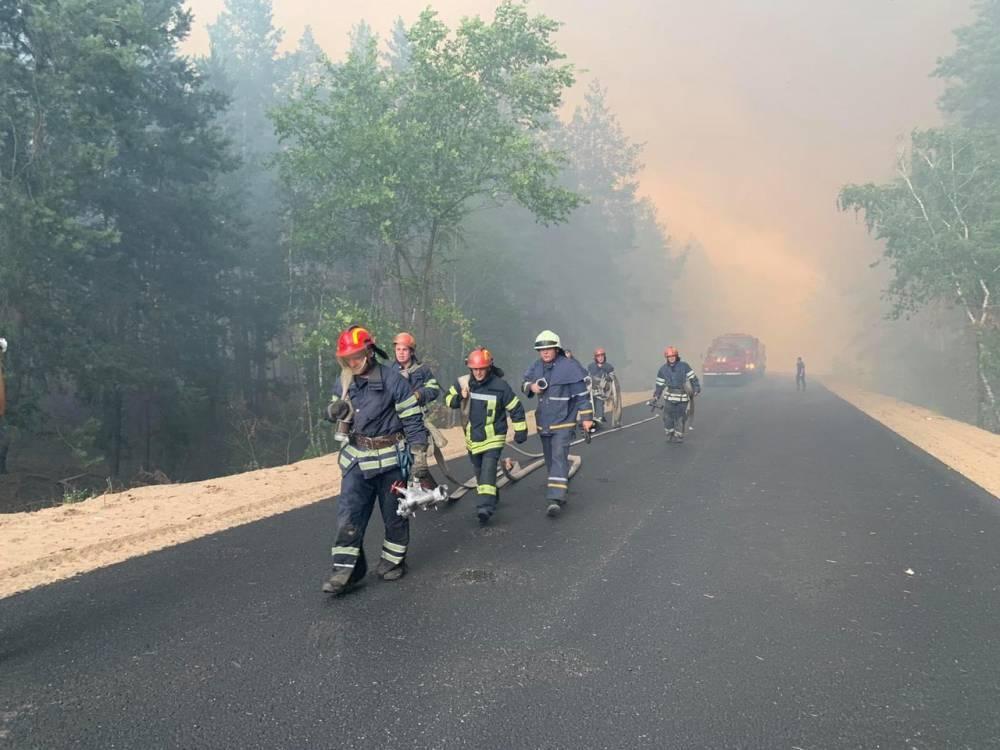 ГБР расследует действия спасателей при пожарах в Луганской области