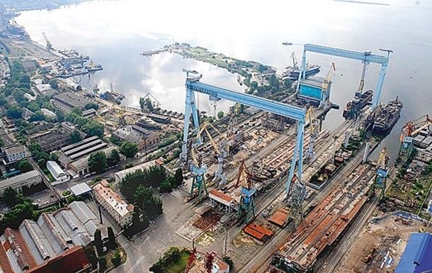 Николаевский судостроительный завод объявил о банкротстве