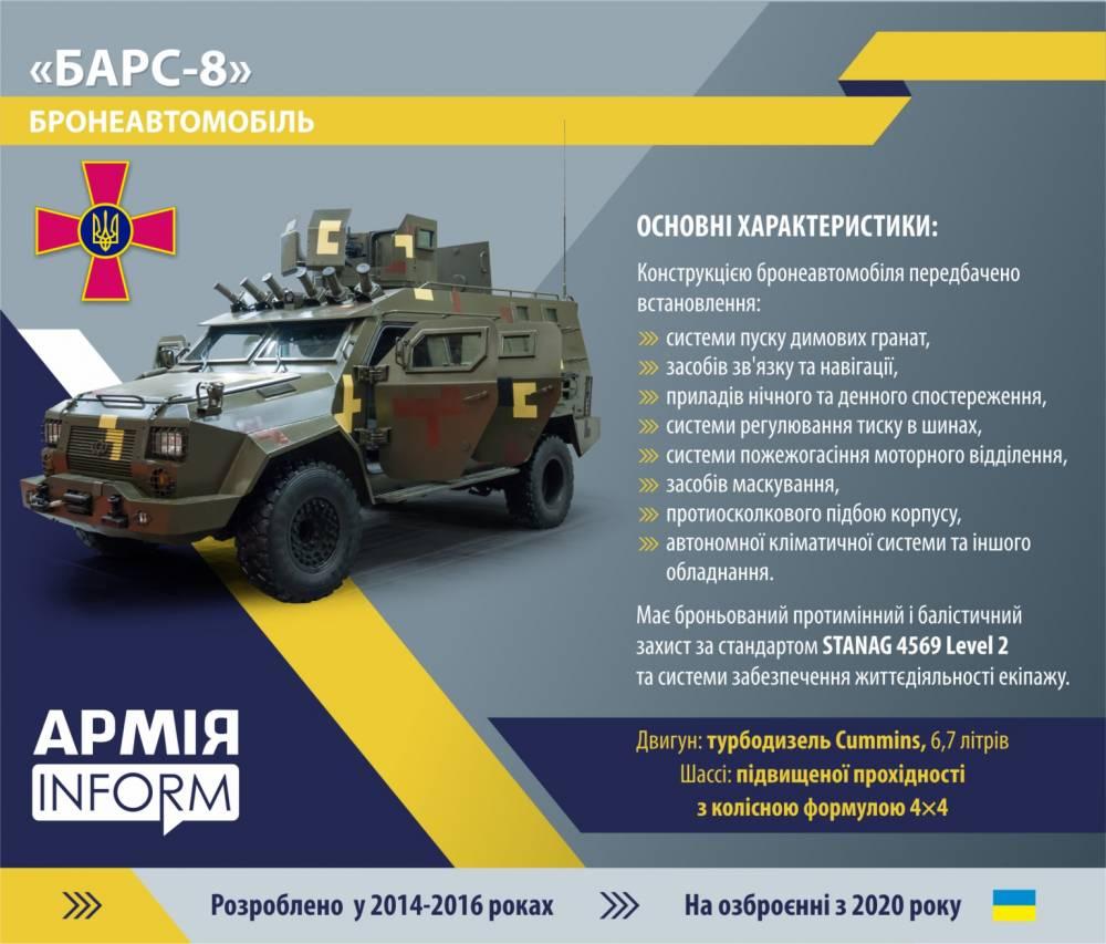 «Укроборонпром» заказал шесть бронемашин у компании Гладковского