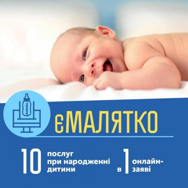 К концу текущего года Минцифры планирует запустить электронный сервис «еМалятко» для всей Украины