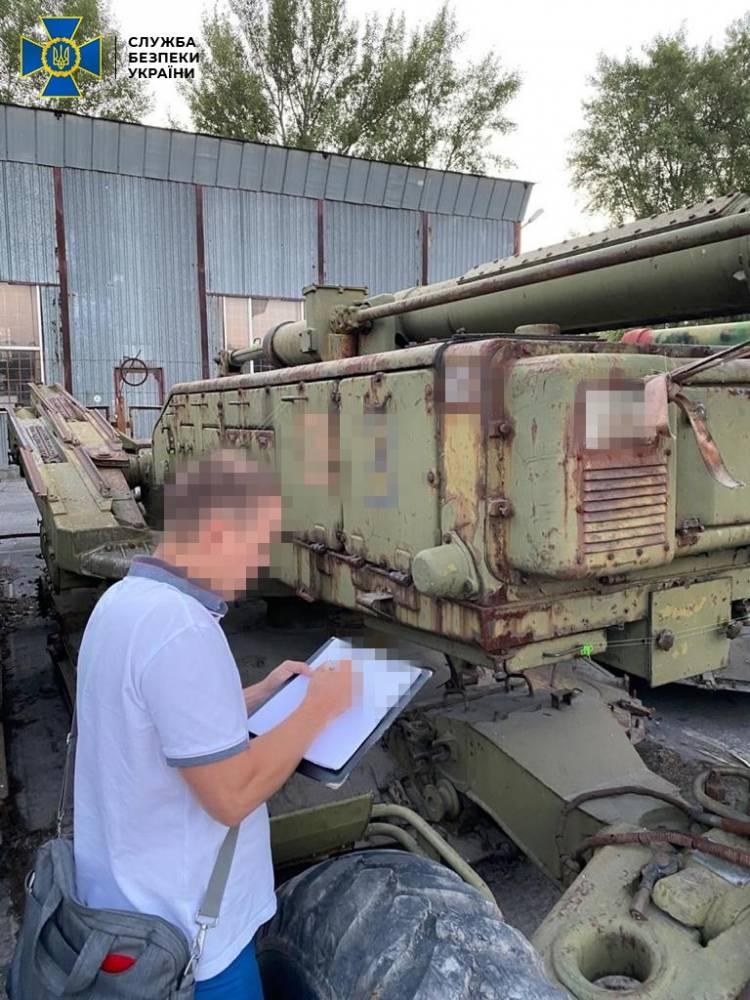 В Украину контрабандой ввезли зенитно-ракетные комплексы на 110 млн гривен