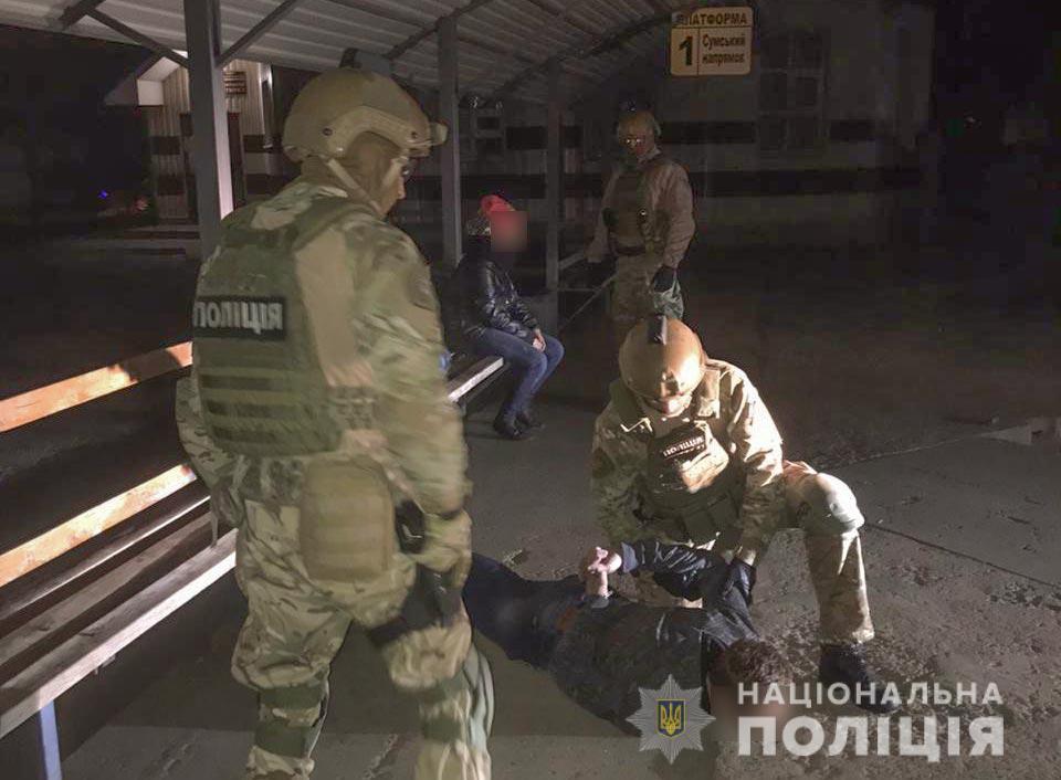 В Украине поймали группу грабителей, занимавшуюся подрывом банкоматов