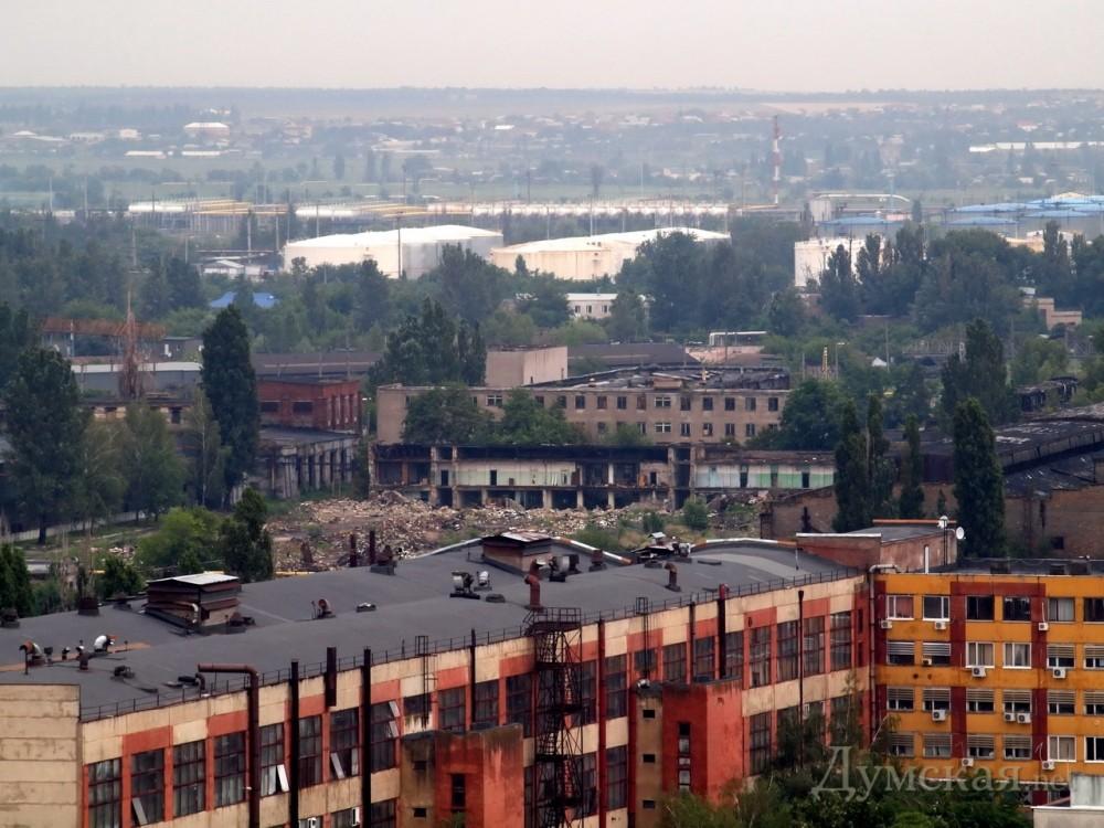 Украинский бизнесмен с помощью «черного» регистратора пытался захватить здание автосборочного завода в Одессе