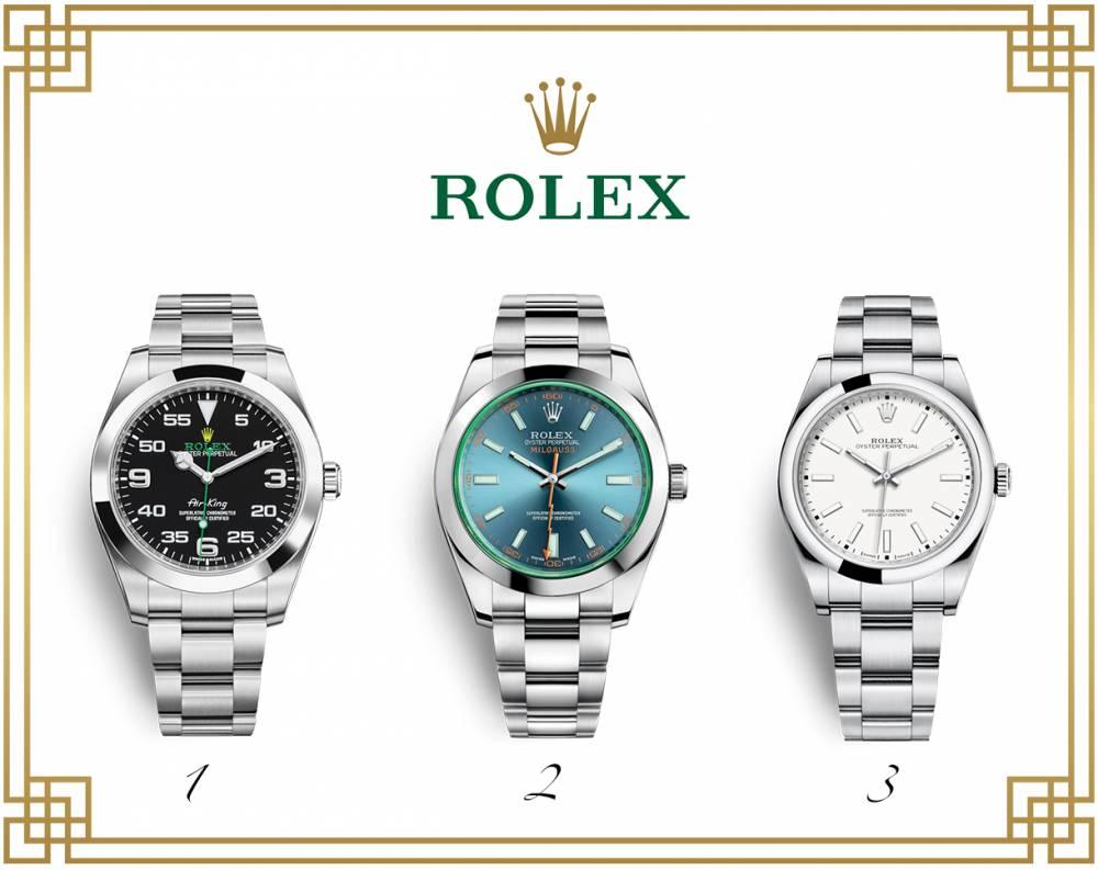 Киевская таможня изъяла партию контрабандных часов Rolex