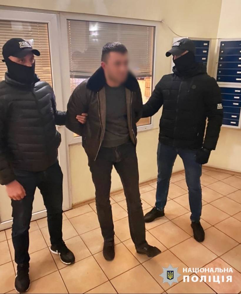 В Киеве задержали мужчину, который угрожал убить полицейского из ревности