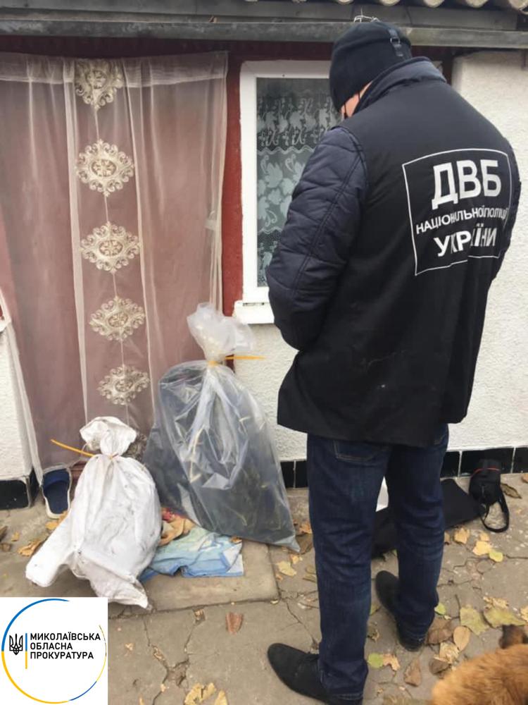 В Николаеве в доме сотрудника ГСЧС нашли марихуану
