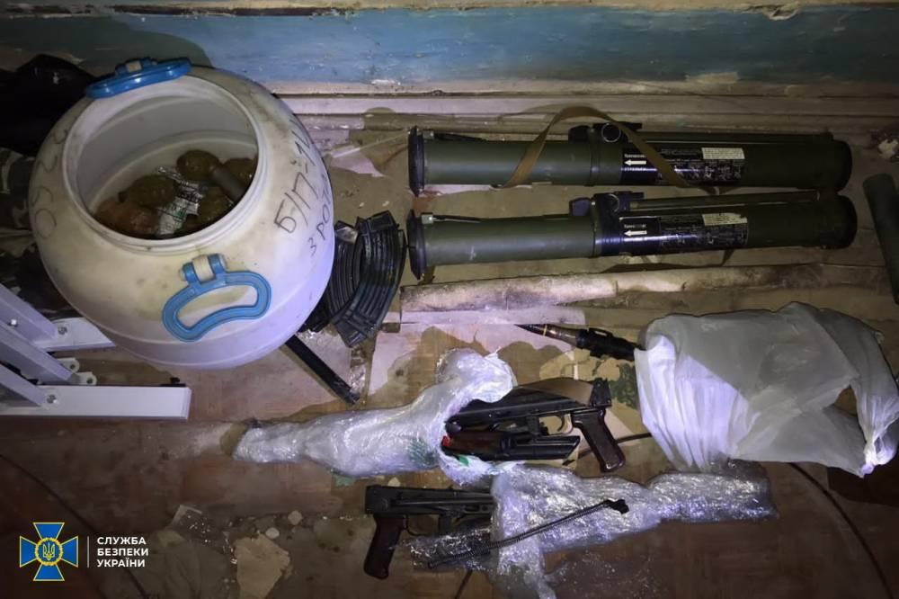 В здании президиума Национальной академии аграрных наук нашли склад оружия