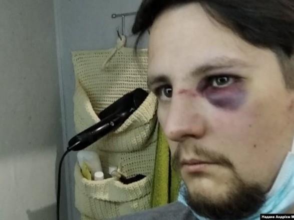 Во Львове на двух ветеранов АТО напали полицейские