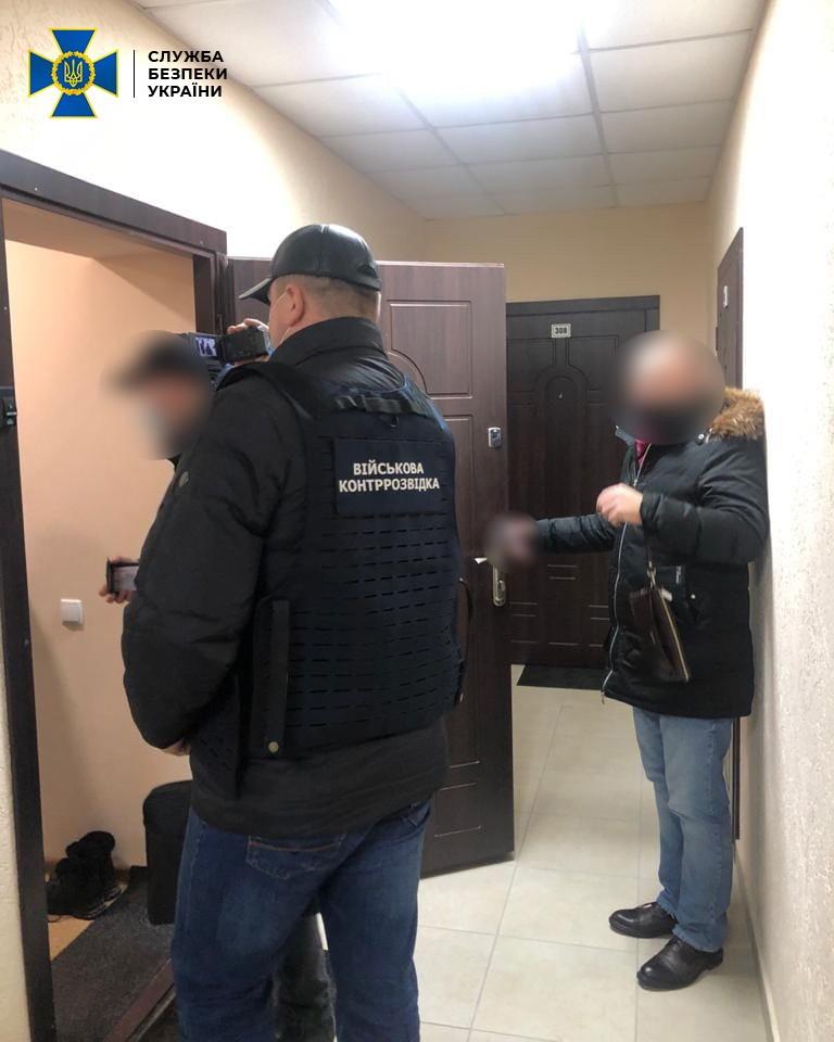 Офицер Нацгвардии продавал информацию спецслужбам РФ