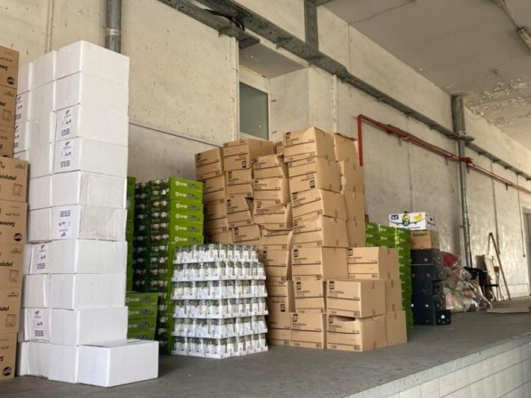 Через «Ягодин» под видом гуманитарной помощи пытались ввезти контрабанду на более 2,5 млн гривен