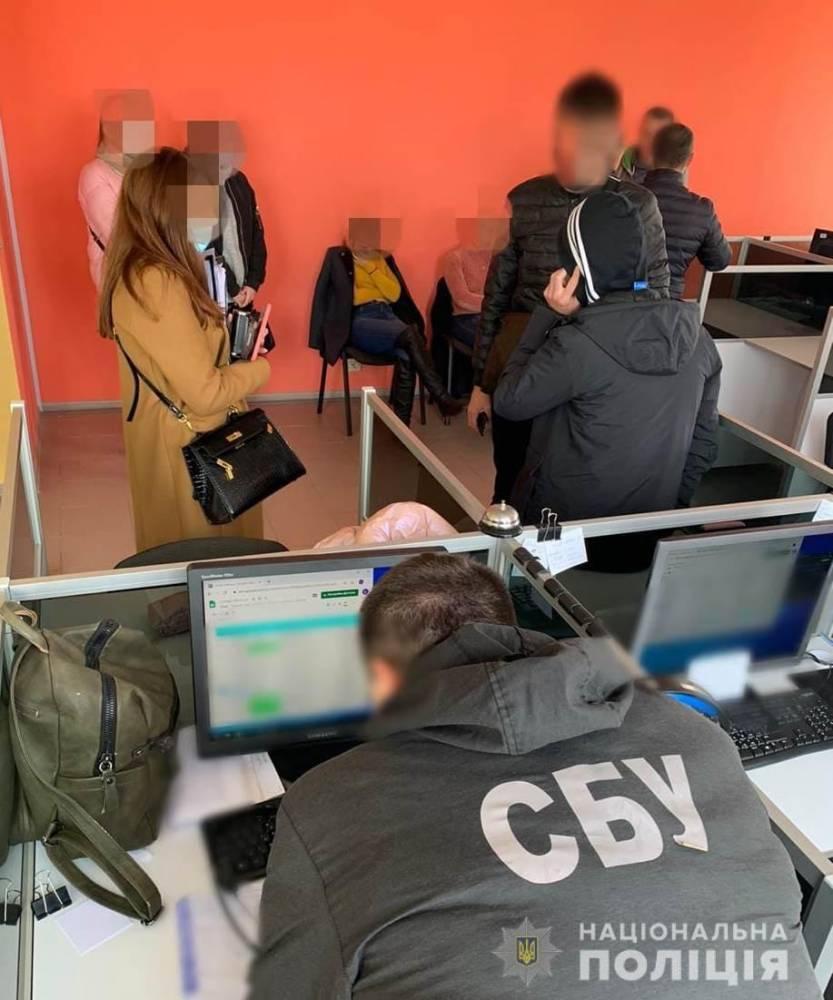 В Одесса закрыли call-центр, который обслуживал мошенников