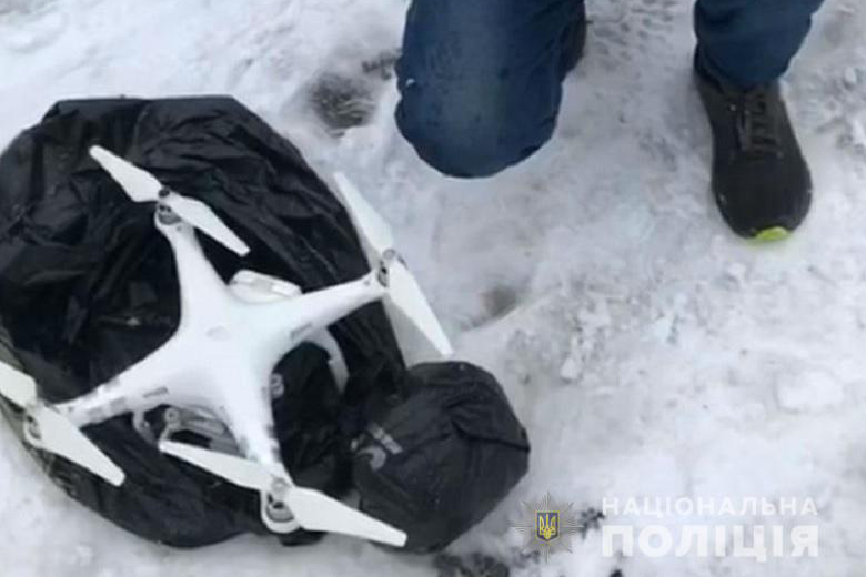 В Киеве в СИЗО прилетел коптер с наркотиками
