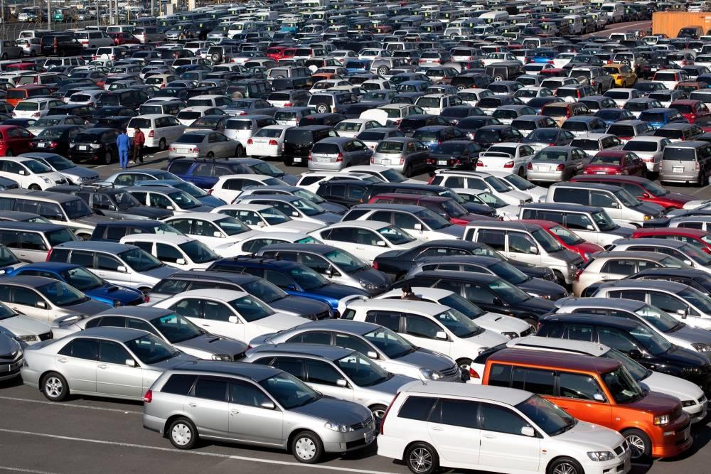 В Украину незаконно ввезли 130 тысяч автомобилей