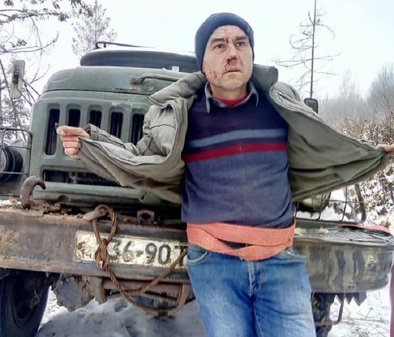 В Львовской области местные жители спасли журналиста от пыток