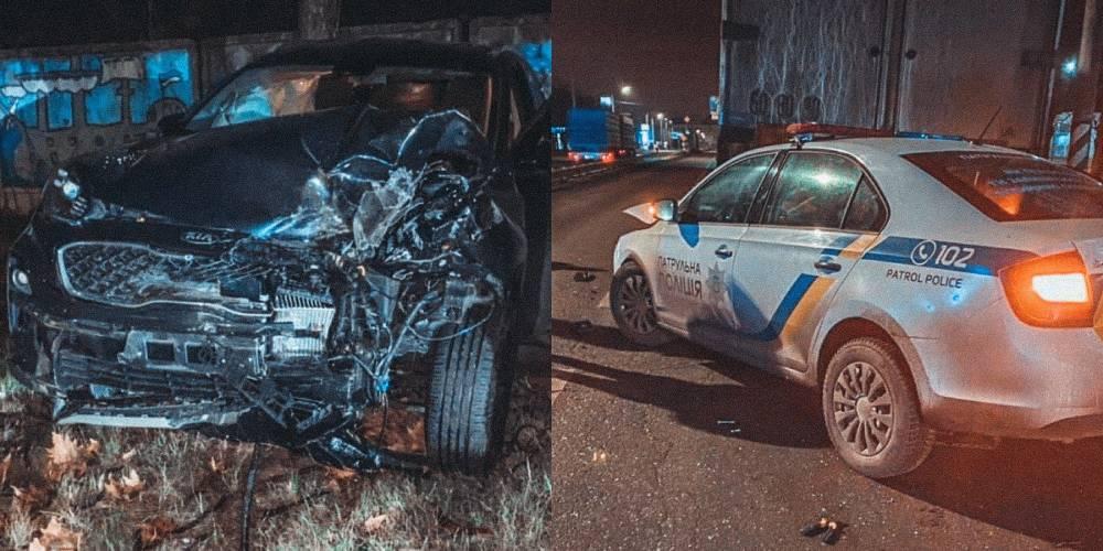 В Николаеве полицейские попали в ДТП после погони за нарушителем