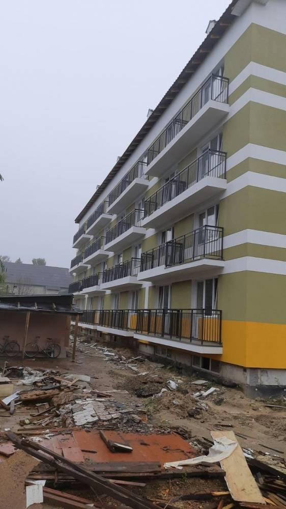 Минобороны из-за долгов остановило строительство жилья для военных
